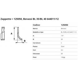 Zappa tipo BENASSI Int. 68 F  8,5  P. 30x4 C= 212043 (ZAPPA/03)