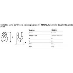 Cavallotto  FERRI gir.f. 11 F. 12.5 P. 11