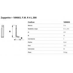 Zappa tipo F.M. Int. 80 F.10,5 P. 50x6 C* (ZP125023)