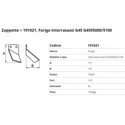 Zappa tipo FORIGO Int. 56  F. 14,5  P. 100x8
