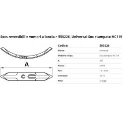 Socs Stampato HC119 F. 13-13x45  P. 55x15