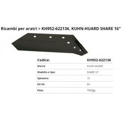 "Vomere Kuhn-Huard 16"""