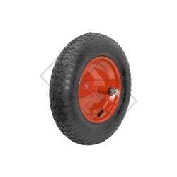 Ruota carriola 3.50-8 pneumatica
