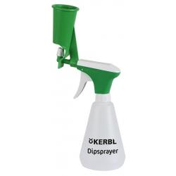 Spray con contenitore x pulizia mammelle