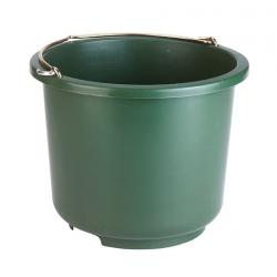 Secchio multiuso 12 Lt. Verde plastica