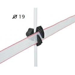 Isolatore x banda paletti 19 mm