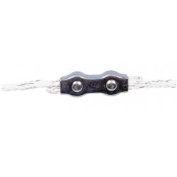 Connettore corda elettrica zincato Ø 6 mm
