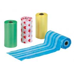 Sacchetti di ricambio per dispenser colori assortiti
