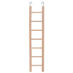 Scaletta di legno per uccellini 32 cm