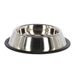 Ciotola x cani in acciaio inox antiscivolo 1800 ml