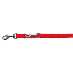 Guinzaglio MIAMI da guida rosso 20 mm - 200 cm