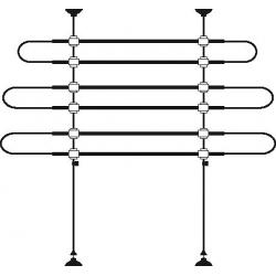 Griglia protettiva per auto H 75-110 cm