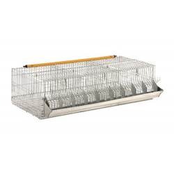 Cestello ingrasso maxi 3 fori 18 conigli