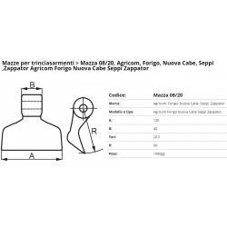 Mazze EM08-20 F. 20.5