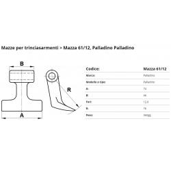 Mazze EM61-12 F. 12.0