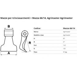 Mazze EM66-14 F. 14.5