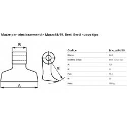 Mazze EM84-19 F. 19,5 (BERTI N.T.)