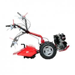 Motocoltivatore 327 8K (D)+ruote regol ATC82+Fresa ATF49+trincia ATH32