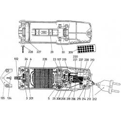 cuscinetto a sfera (motore) T190300003