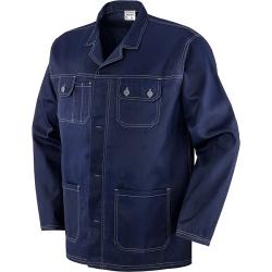 Giacca 100% cotone gr 250 Blu tg S