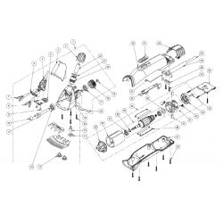 Coperchio Carcassa Testa tosatrice Xpert  (fig. 3)
