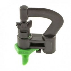Mini irrigatore girevole c/base fil. Ø 5