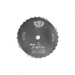 Disco prof. 30 DENTI D.255X25,4X1,25