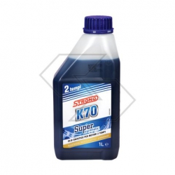 Olio motore K70 Super Synthetic sintetico per motori 2T - 1 litro