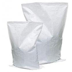 Sacco in rafia bianco 35 x 60 - cap. 18 Kg