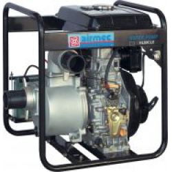 "Motopompa Diesel HL80-CLE 6HP 3"" 1000 LT/M Prev. 31Mt"