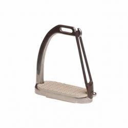 Staffa in acciaio tipo sicurezza cm 12
