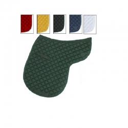 Sottosella sagomato in cotone - verde