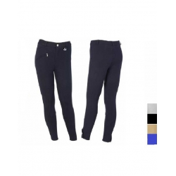 Pantalone bambino equitaz. nero mis. 10