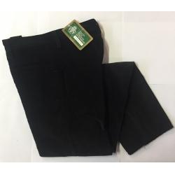 Pantalone in velluto liscio nero mis. 40