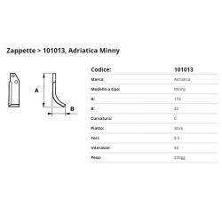 Zappa tipo ADRIATICA Int. 50  F.  8,5 P. 30x5 C =ZP212026