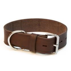 Collare in pelle per cani 1,8 x lung. 46cm
