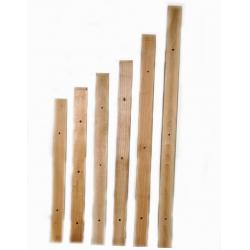 Doghe in legno per torchi da 55