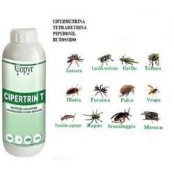 Insetticida Cipetrin T ad ampio spettro 500ml ( conf. pz 15)