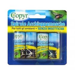 Spirale cattura mosche (4 pz) scatola da 24 blister