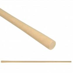 Manico in legno per zappa tonda cm. 140 D. 35