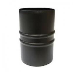 Manicotto Ø 80 M/M nero con guarnizione