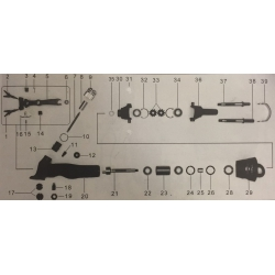 Anello di bloccaggio x tosatrice pensile 18150 (fig. 10)