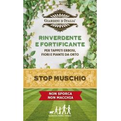 Stop muschio rinverdente e fortificante 1 kg