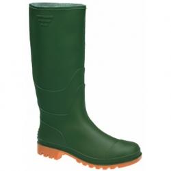 Stivale ginocchio PVC verde Tg. 38
